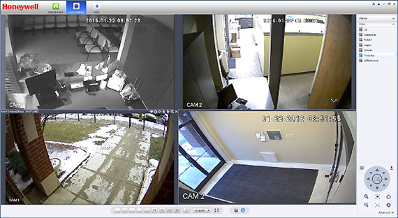 Coordinated multiple camera monitoring
